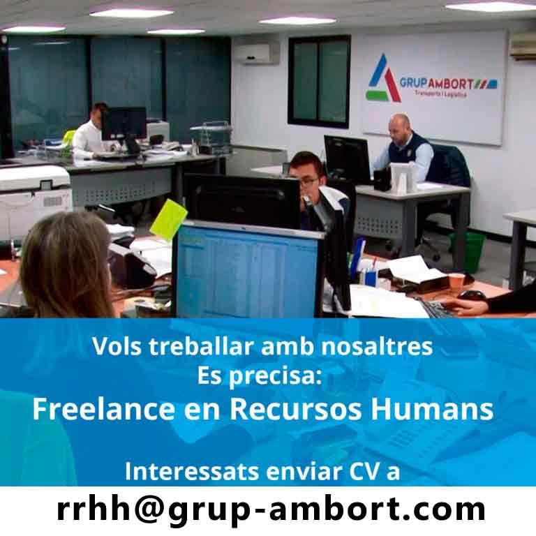 Se precisa Freelance en Recursos Humanos